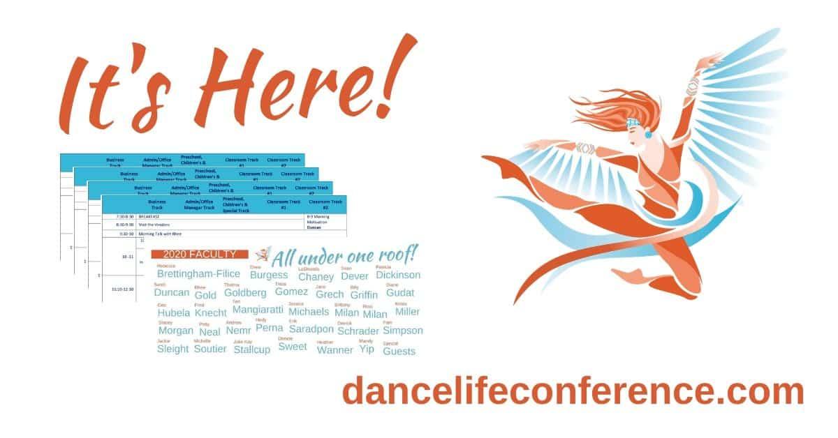 DLTC 2020 Schedule Reveal1-5